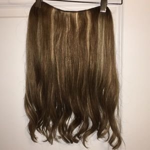 """16"""" Halocouture hair extensions."""